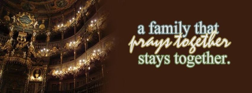 family that prays together fb cover