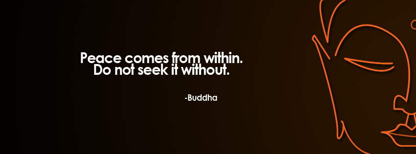 fb cover buddha peace