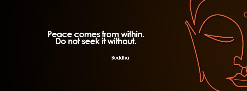 fb cover buddha peace
