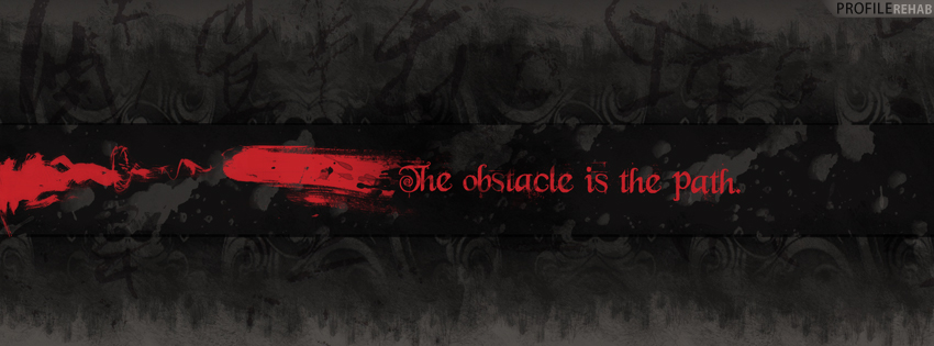 goth quote fb cover
