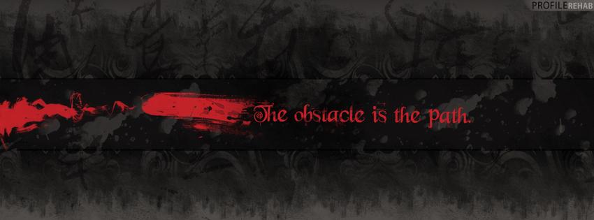 goth quote fb cover