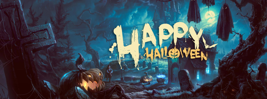halloween horror fb cover