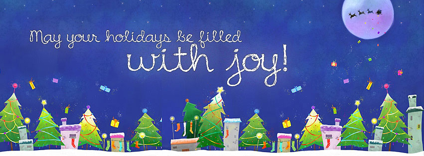 happy holidays fb cover