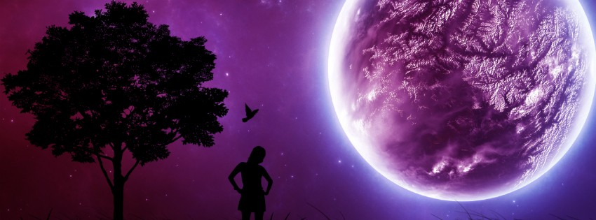 purple moon fb cover