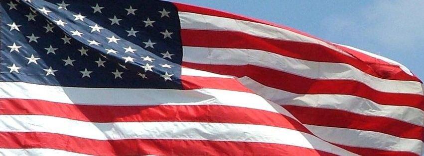 usa flag fb cover