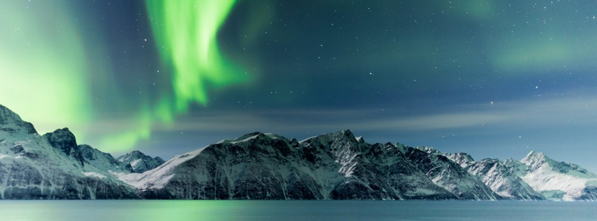 winter with northern lights fb cover