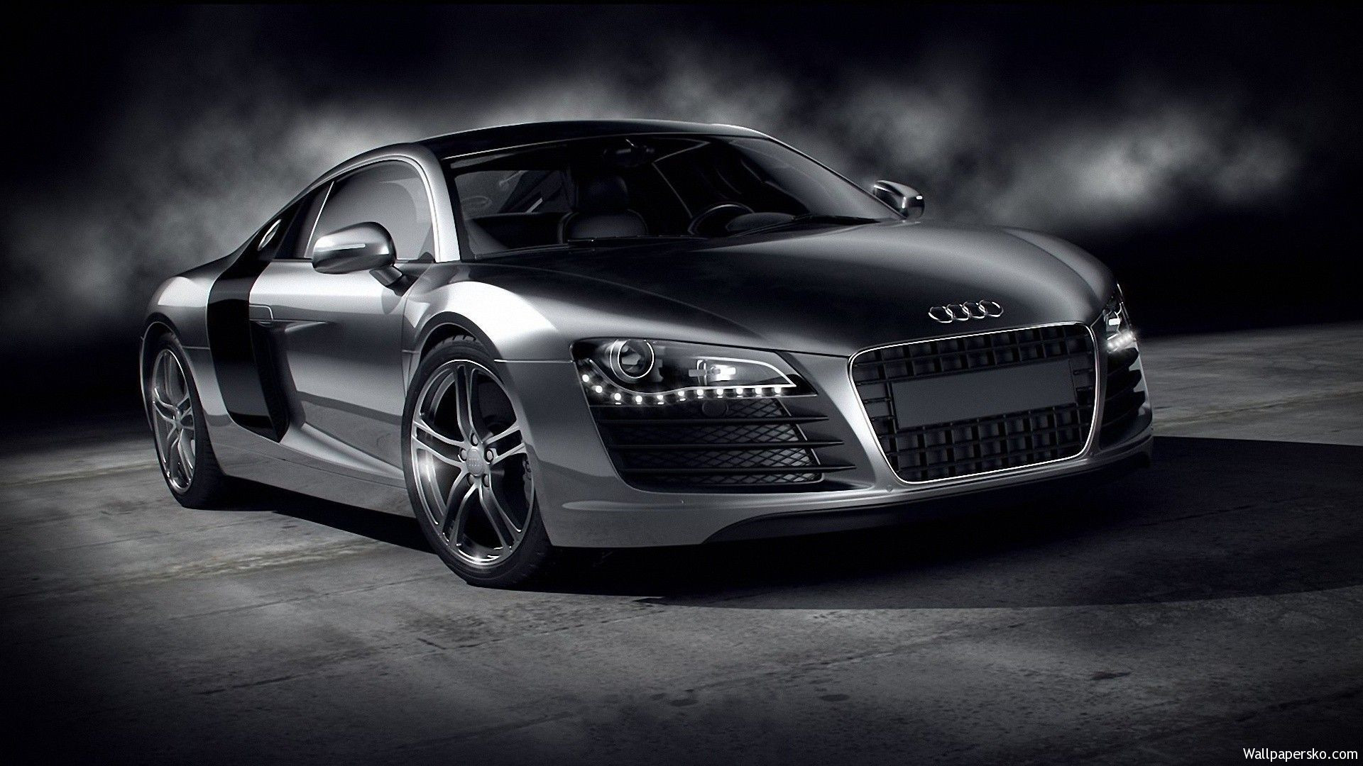 Black Audi R8 Wallpaper Hd Wallpapers Download