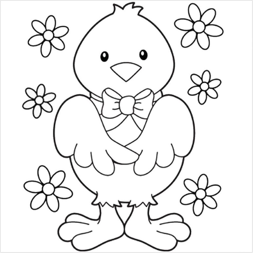 images of easter pictures to color
