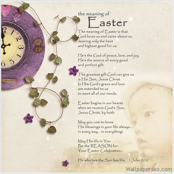 meaning of easter images