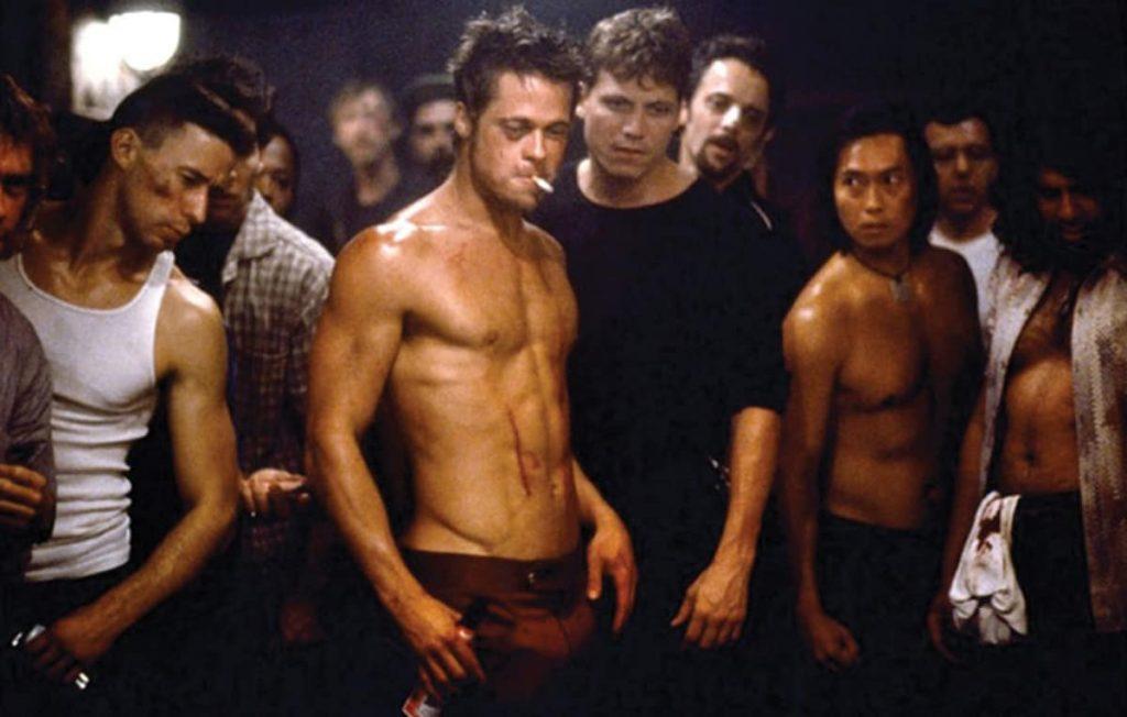 Brad Pitt Fight Club Pics