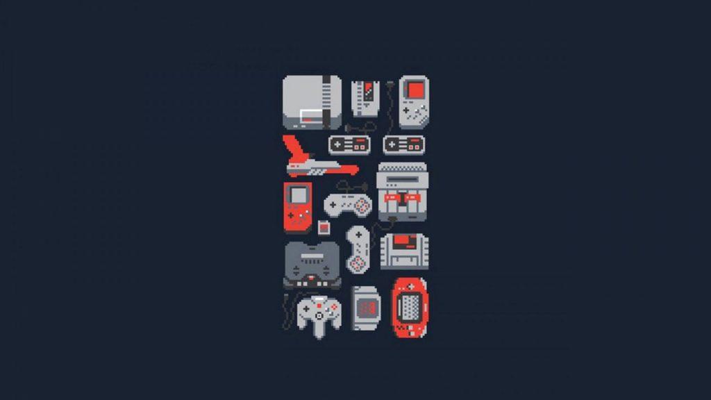Classic Video Game Wallpaper