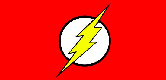 Flash The Superhero Logo