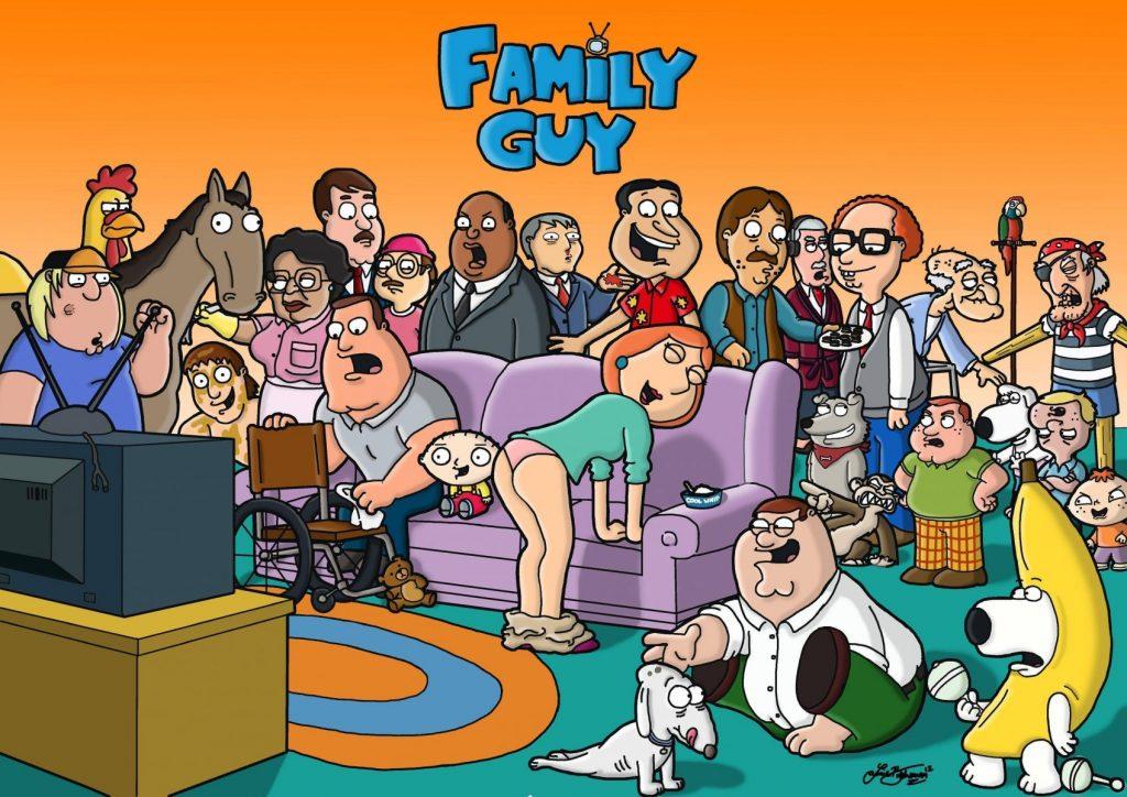 the family guy wallpaper
