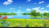 Animated Scenery Background