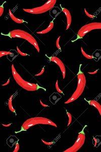 Chili Pepper Wall Paper