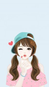 Cute Girl Cartoon Images