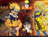 Dragon Ball Vs Naruto Wallpaper