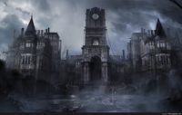 Gothic Castle Background