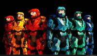 Halo Red Vs Blue Wallpaper