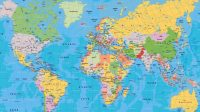 High Definition Map Of The World