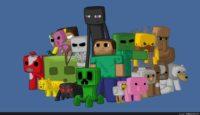 Minecraft 2048 By 1152