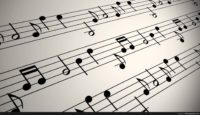 Musical Notes Background Image