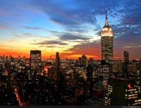 New York City Wallpaper Sunset