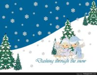 Precious Moments Christmas Wallpaper