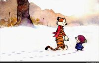 Wallpaper Calvin And Hobbes