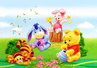 Winnie The Pooh Wall Paper