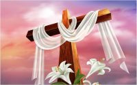 easter images of the cross