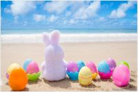 easter images on the beach