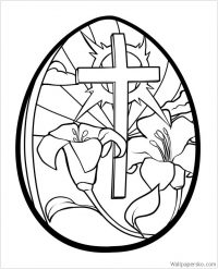easter images to colour in