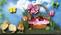 easter tweety wallpaper