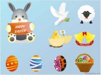 easter vector images free