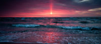 fb cover photo pink sunset