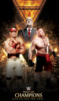 john cena vs brock lesnar night of champions