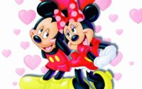 mickey mouse and minnie mouse pictures of love