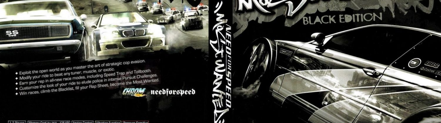 Need For Speed Most Wanted Black Edition Ps2 Hd Wallpapers Download