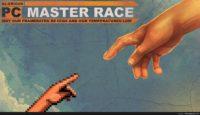 pc master race desktop background