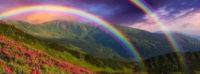 photo rainbow fb cover photo