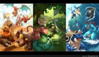 pokemon digital art