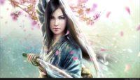samurai girl wallpaper