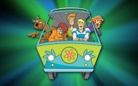 scooby doo wall paper