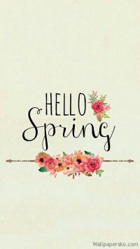 spring iphone wallpaper tumblr quotes