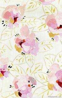 spring watercolor iphone wallpaper