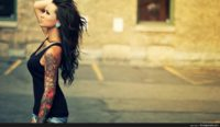 tattoo girl hd wallpaper