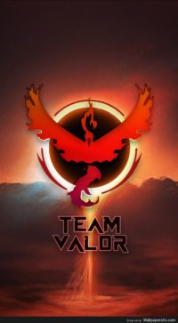 team valor phone background