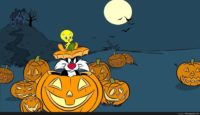 tweety bird halloween wallpaper
